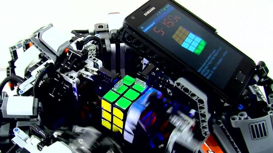 Der Rubik's Cube-Roboter | WTF | Was is hier eigentlich los?
