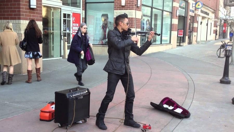 Street Musician Bryson Andres | Musik | Was is hier eigentlich los?