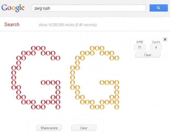 Google's Zerg Rush