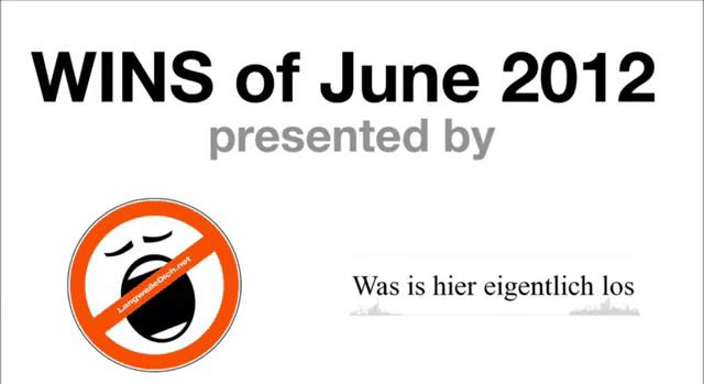 Win-Compilation im Juni 2012 - powered by WIHEL und langweiledich.net