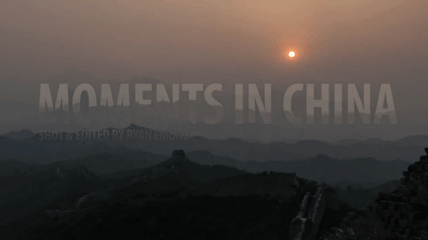 Moments in China