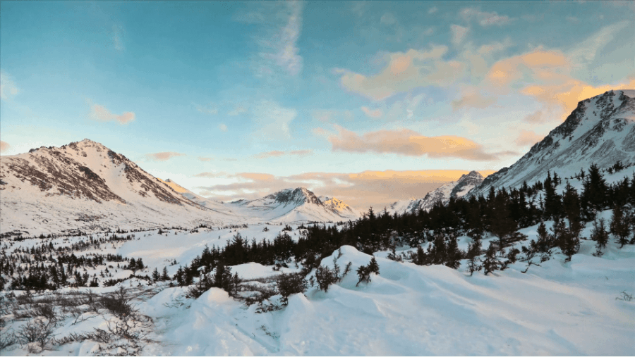 Anchorage by winter | Timelapse | Was is hier eigentlich los?