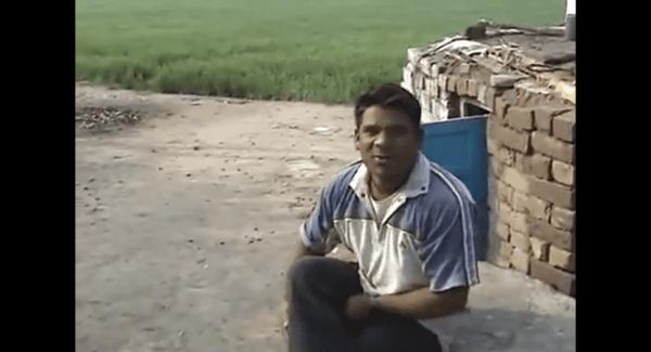 Ein Inder imitiert zahllose Tiere