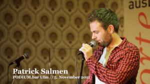 Poetry Slam: Patrick Salmen - Euphorie, Euphorie | Lustiges | Was is hier eigentlich los? | wihel.de