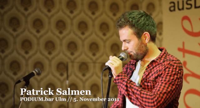 Poetry Slam: Patrick Salmen - Euphorie, Euphorie | Lustiges | Was is hier eigentlich los?