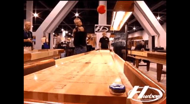 Shuffleboard Trick Shots