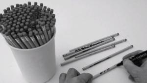 Auf Bleistifte zeichnen | Design/Kunst | Was is hier eigentlich los? | wihel.de