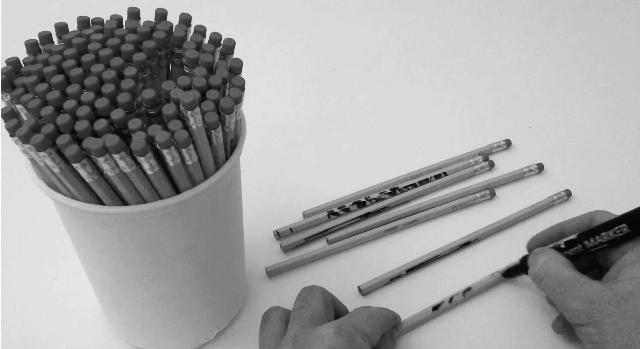 Auf Bleistifte zeichnen | Design/Kunst | Was is hier eigentlich los?