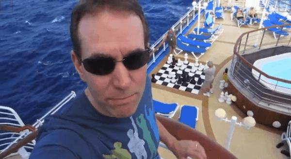 Eine kleine Kreuzfahrtschifftour