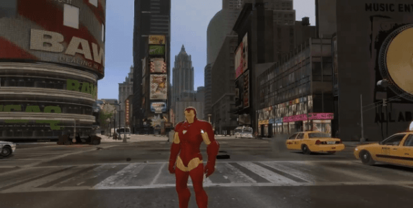 GTA 4 als Iron Man