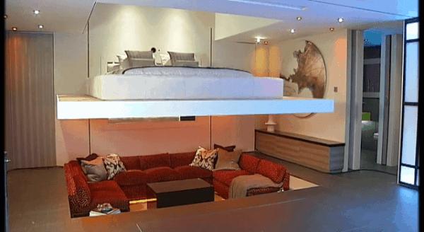 Transforming Apartment - Platzsparend wohnen