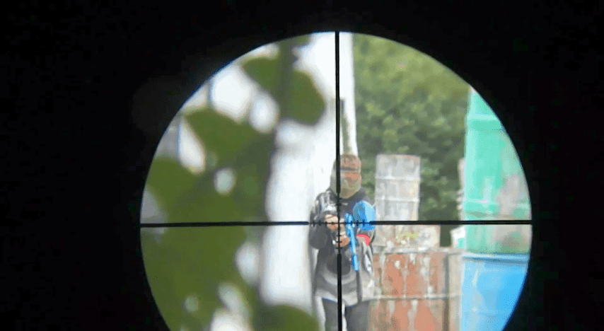 Der Paintball-Sniper