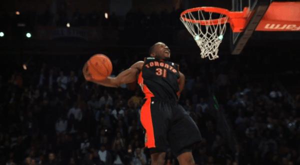 Terrence Ross, der Gewinner des NBA Sprite Slam Dunk Contests