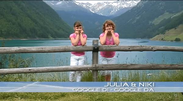 Julia und Niki singen Google di & Google da