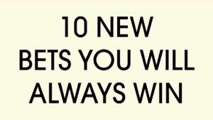 10 neue Wetten, die ihr garantiert gewinnt | Awesome | Was is hier eigentlich los? | wihel.de