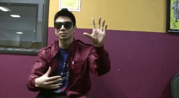 Der verrückte Finger-Tänzer