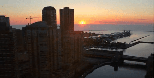 Timelapse: Moving through Chicago