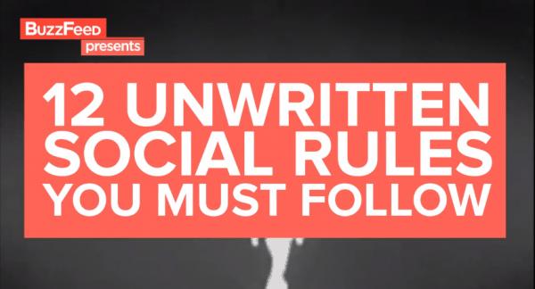 Die 12 ungeschriebenen Regeln für ein schöneres Miteinander | Lustiges | Was is hier eigentlich los? | wihel.de