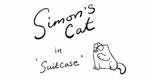 Neue Folge von Simon's Cat: Suitcase | Lustiges | Was is hier eigentlich los? | wihel.de
