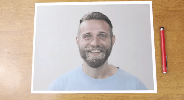 Ballpoint Barber - Stop-motion Reverse Haircut and Beard-cut | Stop-Motion | Was is hier eigentlich los?