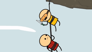 Cyanide & Happiness - The Rope | Lustiges | Was is hier eigentlich los? | wihel.de