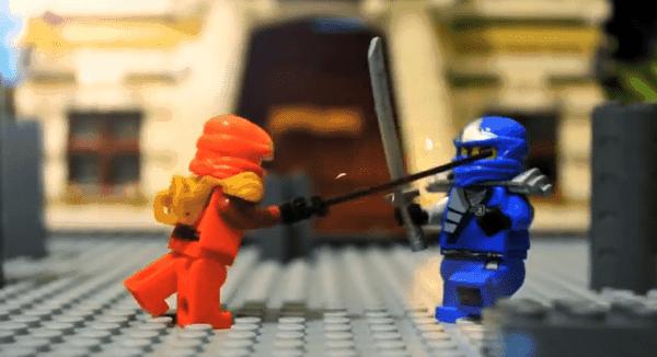 Ninja Stop Motion Action