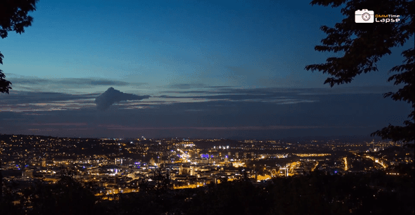 Timelapse: Stuttgart bei Nacht | Timelapse | Was is hier eigentlich los?