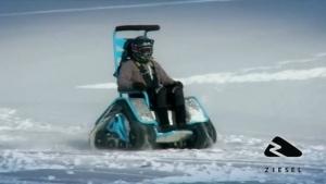 Der Rollstuhl für den Wintersport | Gadgets | Was is hier eigentlich los?