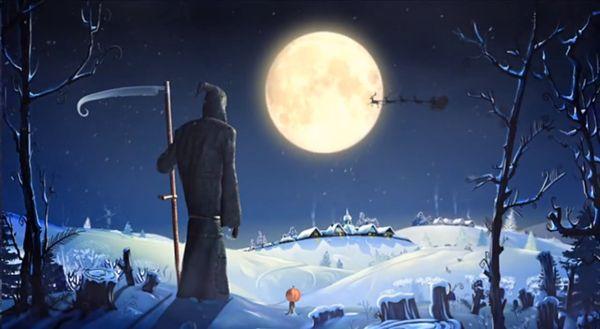 Der Tod vs. Santa Claus | Animation | Was is hier eigentlich los? | wihel.de