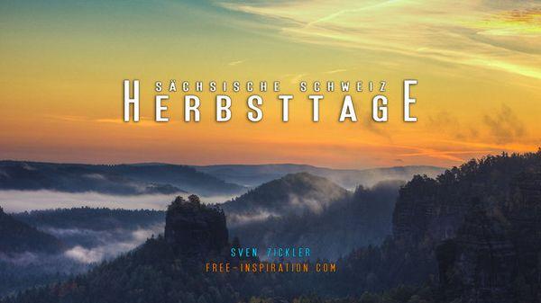 Timelapse: Herbsttage - Sächsische Schweiz | Timelapse | Was is hier eigentlich los?