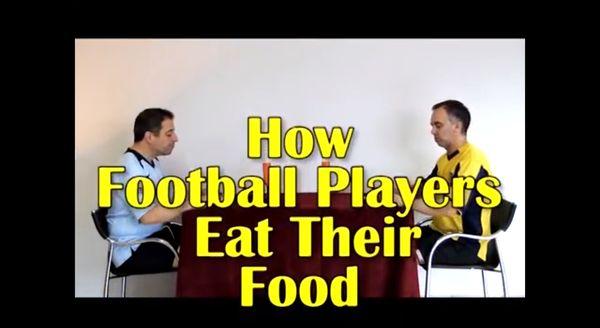 Wie Fußballer essen | Lustiges | Was is hier eigentlich los? | wihel.de