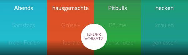 Der Gute-Vorsatz-Generator | Nerd-Kram | Was is hier eigentlich los? | wihel.de