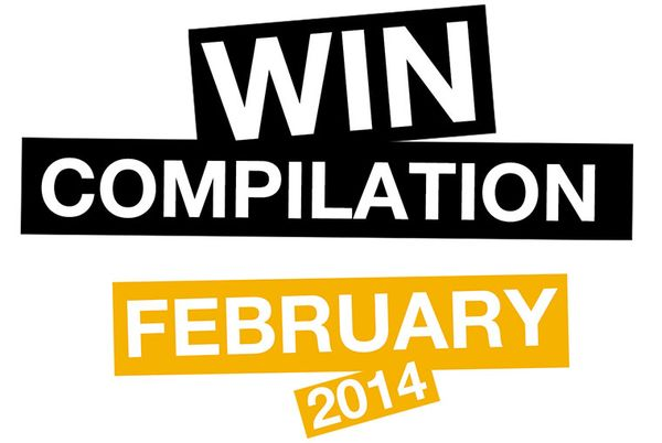Win-Compilation im Februar 2014
