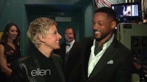 Mit Ellen DeGeneres Backstage bei den Oscars | Lustiges | Was is hier eigentlich los? | wihel.de