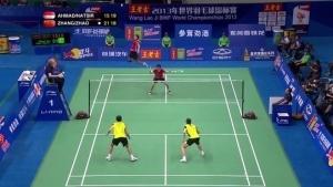 Nur ein semi-professioneller Badminton-Ballwechsel | Awesome | Was is hier eigentlich los?