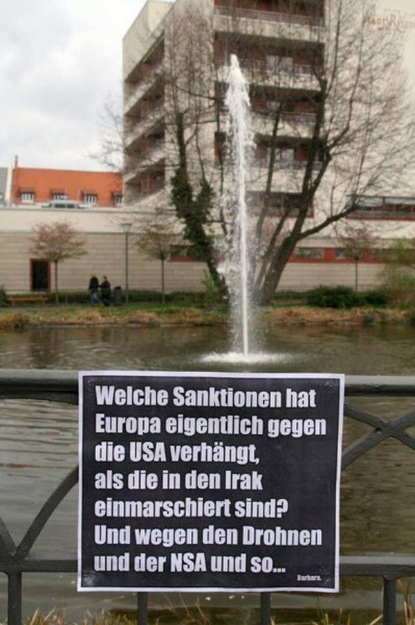 Barbara's Plakate gegen Verbote, Hinweise, Werbung und Idioten | Awesome | Was is hier eigentlich los? | wihel.de