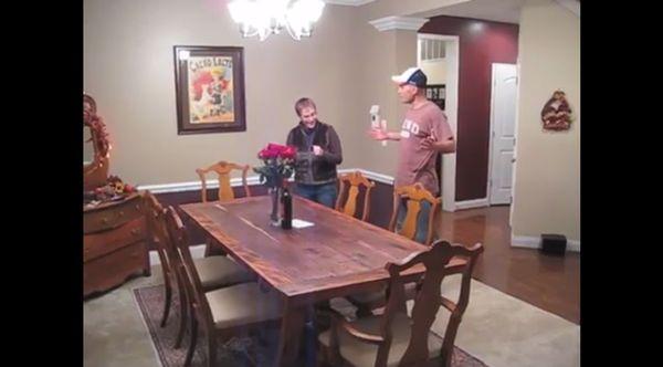 Ein Tisch komplett selbst gebaut
