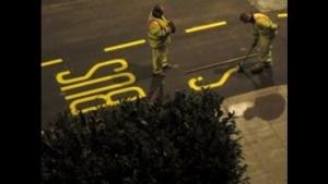Straßentypographie - Freihand | Design/Kunst | Was is hier eigentlich los?