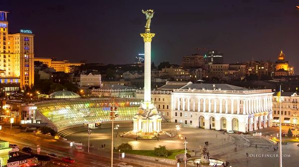 Timelapse: Kiew