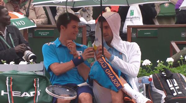 Eine kleine Pause mit Novak Djokovic | Lustiges | Was is hier eigentlich los? | wihel.de