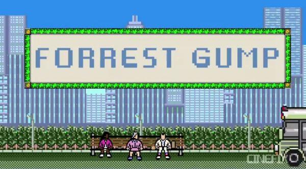 Forrest Gump in der 8-Bit-Version