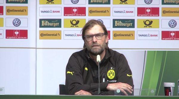 Jürgen Klopp auf der Pressekonferenz nach dem DFB-Pokalfinale | Lustiges | Was is hier eigentlich los? | wihel.de
