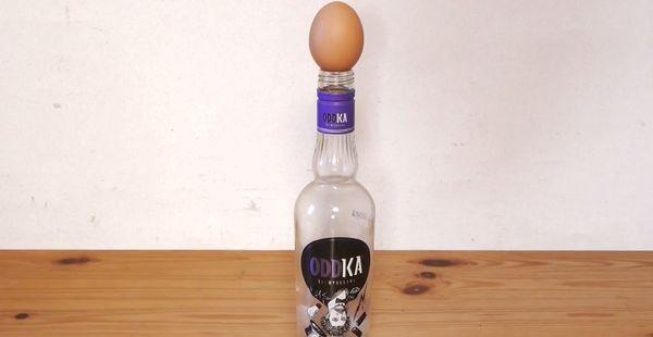 Wie man ein rohes Ei in eine Flasche bekommt | Lustiges | Was is hier eigentlich los? | wihel.de