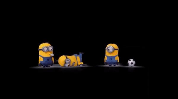 Auch bei den Minions ist WM