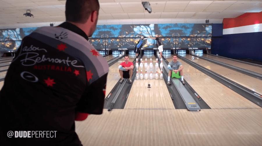 Bowling Trickshots von Dude Perfect | Awesome | Was is hier eigentlich los?