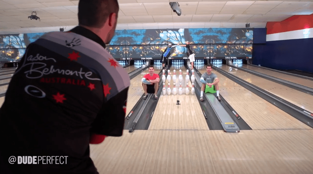 Bowling Trickshots von Dude Perfect