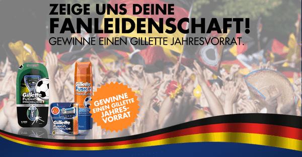 Gewinnspiel & Interview: Mit Thomas Müller und Gillette zur WM