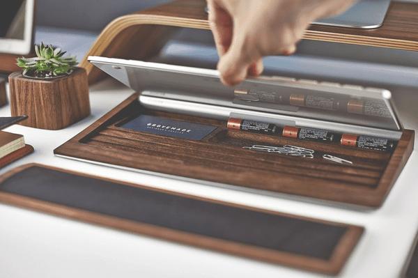 Stylische Schreibtischeinrichtung von GROVEMADE | Gadgets | Was is hier eigentlich los?