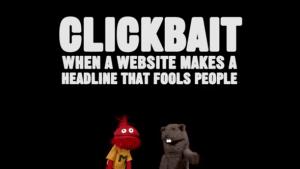 Was ist Clickbait und warum ist es egal? | Nerd-Kram | Was is hier eigentlich los? | wihel.de
