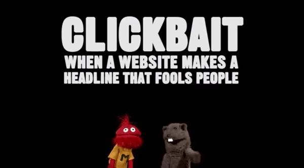 Was ist Clickbait und warum ist es egal?
